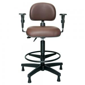 Cadeira Secretaria Caixa Back II Com Braço